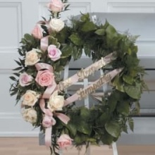 Peaceful Pink Wreath