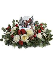 Thomas Kinkade\'s Christmas Bridge Bouquet