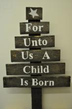 A Child is Born - Pallet Tree