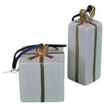 Ceramic Ornament - Presents