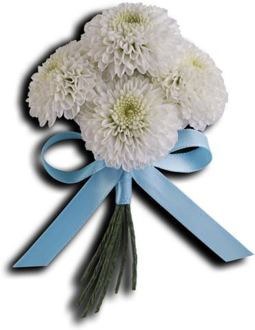 Country Romance Boutonniere