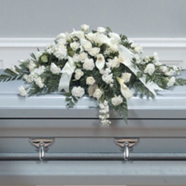 Stately Lily Casket Spray